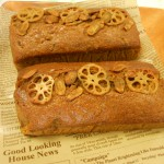 ✿努力賞 根菜のパウンドケーキ
