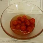 トマトのはちみつ漬け
