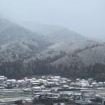 今年は暖冬のせいか、こんな雪景色もあまり見られませんでした。