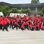 1年から9年まで、みんなで踊ります!