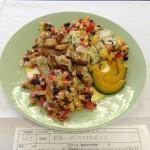 野菜いっぱいのマヨネーズソース